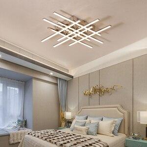 Image 5 - Современная светодиодная люстра, потолочная лампа с хромированным покрытием для гостиной, спальни, ресторана, кухни, комнатное освещение