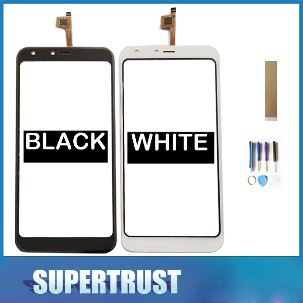 For BQ Mobile BQ-5301 Strike View BQ5301 BQ 5301 Touch Screen Digititer Sensor Touch Panel Glass With Tape Tools Black White Color
