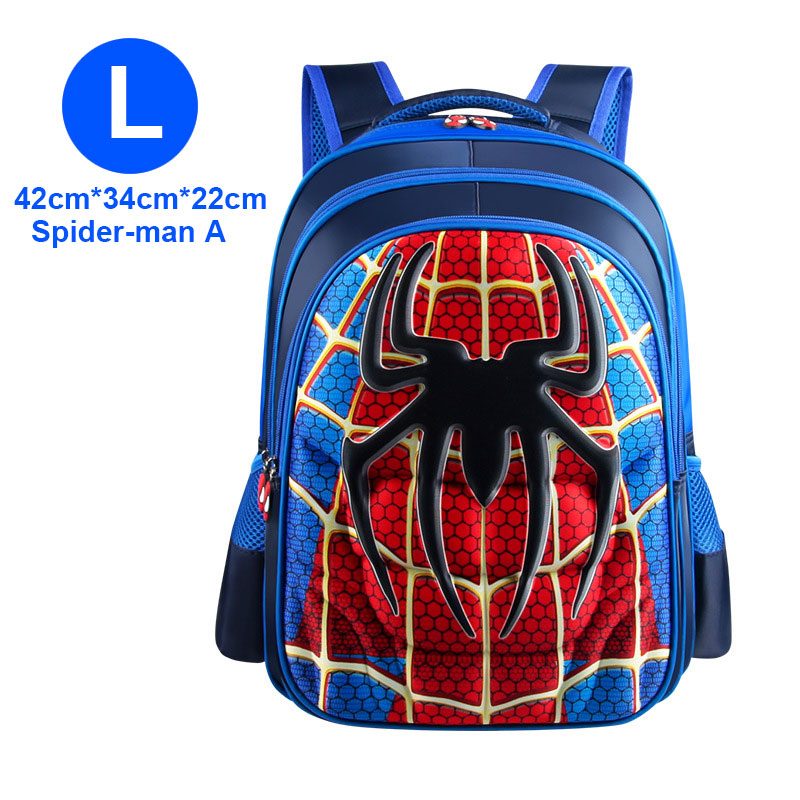 3D 3-12 Year Old School Bags For Boys Waterproof Backpacks Child Book Bag Kids Shoulder Bag Satchel Knapsack