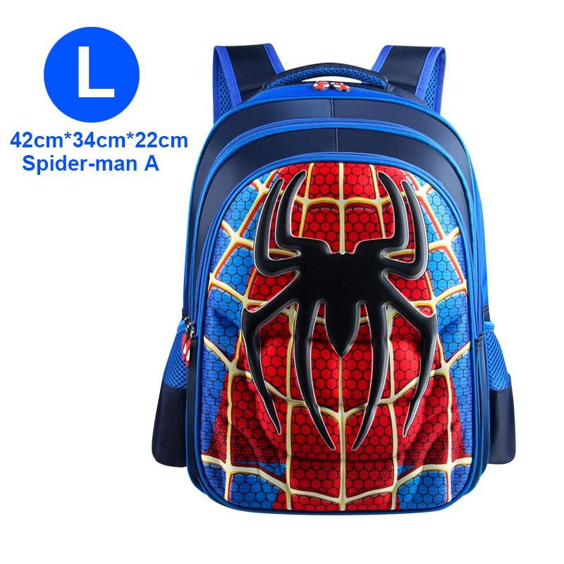 3D 3-12 Year Old School Bags For Boys Waterproof Backpacks Child Book Bag Kids Shoulder Bag Satchel Knapsack
