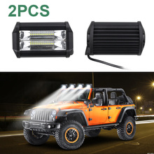 2pcs Car Truck 24LED 3030 LED Working Light Headlights Headlamps Waterproof IP67 7200LM 6000K Off-Road light