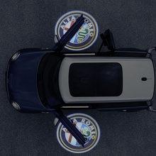 Luz LED de cortesía para puerta de coche, proyector láser para Alfa Romeo 159 147 156 Giulietta 147 159 MiTo, 2 uds.