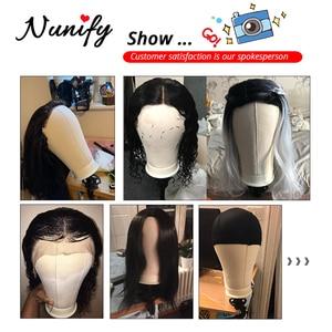 Image 5 - Nunify peluca de lona de 21/22/23/24/25 pulgadas, cabeza de maniquí con soporte y cabeza de maniquí, Kit para hacer peluca, soporte para extensión de pelo