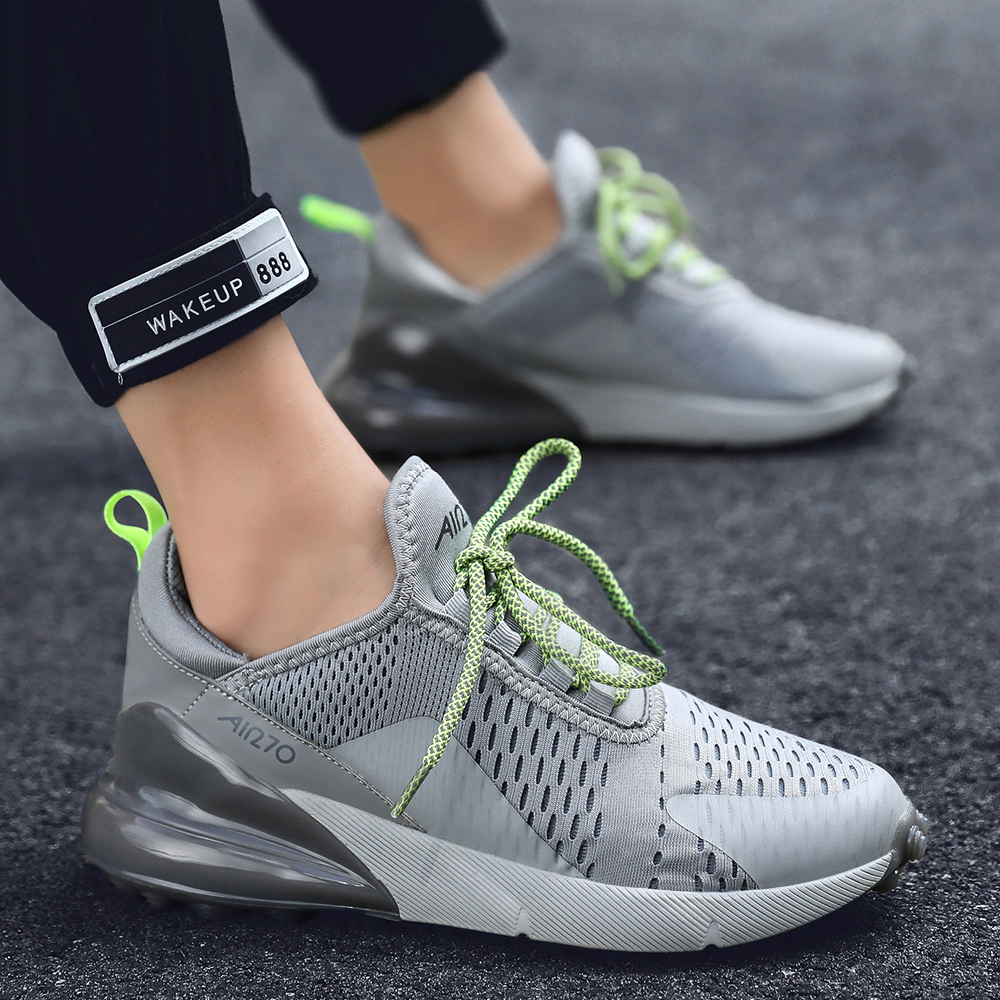 New Running Shoes Men Jogging Sneakers Women Air Cushion Breathable Mesh Lace-up Outdoor Walking Training Fitness Sport Shoes 47