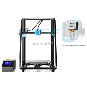 Image 2 - CREALITY CR 10 de actualización 3D para impresora V2, tamaño de impresora 300x300x400mm, placa base silenciosa, hoja de impresión con fuente de alimentación Mean well