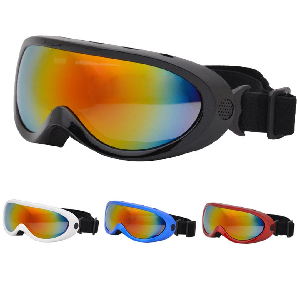 Winter Windproof Men Women Skiing Glasses Goggles Outdoor Sports Cs Glasses  UV400 Dustproof Anti-fog Moto Cycling Sunglasses