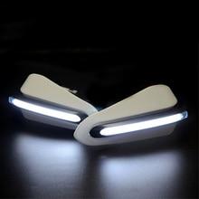 Paramani moto paramani con luce a LED per honda dominator goldwing gl1800 shadow aero 750 valkyrie 1500 hepa 125