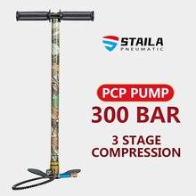 300bar 4500psi 30mpa 3 fase pcp mini mão operado bomba de ar do tanque rifle arma ar mini mão compressor alta pressão
