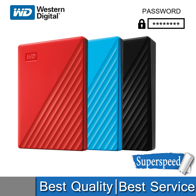 WD Disk Encrypted 4TB External-Storage 5TB Portable Usb-3.0 Mobile 1TB 2TB High-Speed title=