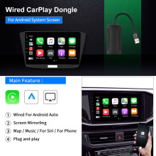 Adaptador de Carplay inalámbrico para coche, dispositivo inteligente con USB, para Android, navegación, módulo de Apple Carplay
