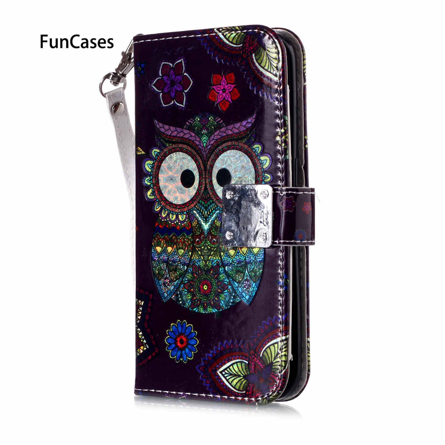 S6 Edge Rainbow Wallet Flip Case For phone case Samsung S6 Edge Protector Movil sFor Samsung Galaxy funda S6 Edge Bumper Cases
