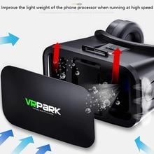 4,5-6,7 дюймов Vrpark Vr Ar Виртуальная реальность glase с контроллером 3D Vr гарнитура для Iphone Android