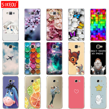 Silicone Case For Samsung Galaxy A3 A5 A7 2015 2016 2017 Case Cover A500 A510 A520 A300 A310 A320 A700 A710 A720 Coqa qijun glitter bling flip stand case for samsung galaxy a7 a 7 a700f 2016 a710 2017 a720 sm a720f wallet phone cover coque