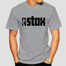 Etiqueta de música Vintage Stax, Logo Funk Soul, Shirt-2486D