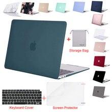 Caso do portátil para 2020 macbook pro 13 a2289 ar 13 a1932 a2179 retina polegada a1502 a1706 a1466 notebook substituir capa dura