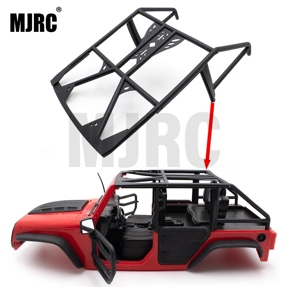 Applicable To 1/10 Simulation Climbing Car JEEP 313mm Wheel Hard Shell Wrangler Roll Cage Car Shell Protection Frame SCX10 II