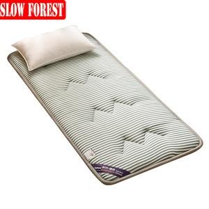 Складной татами удобный мягкий матрас, мебель для спальни, матрас размера Twin Queen, полноразмерная влагостойкая подушка для кровати