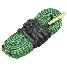 Cleaning Kit Tool Rifle Barrel Calibre Snake Rope 22 Cal.223 Cal.38 Cal& 5.56mm,7.62mm,12GA Hunting Gun Bore Cleaner Snake Rope цены онлайн