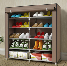 цена на Dustproof Non-woven Shoe Storage DIY Assembly Shoe Storage Cabinet Stand Holder Space Save Portable Shoe Organizer Rack