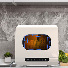 Dishwashing-Machine Desktop Automatic Free-Installation Small Mini Household Intelligent