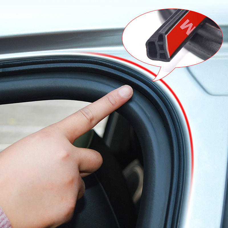 Резиновая уплотнительная лента для автомобильной двери L-типа для BMW E46 E39 E90 E60 E36 F30 F10 E30 E34 X5 E53 M F20 X3 E87 E70