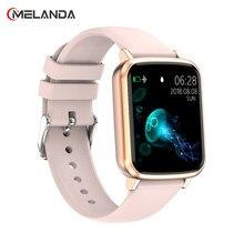 2021 Bluetooth Smart Horloge Mannen Hartslagmeter Vrouwen Smartwatch Waterdicht Voor Android Apple Telefoon Relogio Inteligente