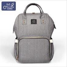 Autentyczne LAND Mommy torby na pieluchy matka o dużej pojemności podróży plecaki na pieluchy anti loss zipper torba na pieluchy dla baby born MPB01