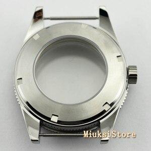Image 5 - Corgeut 41mm top watch case sapphire glass ceramic bezel  fit Miyota 8205/8215 82 Series ETA 2836 DG2813