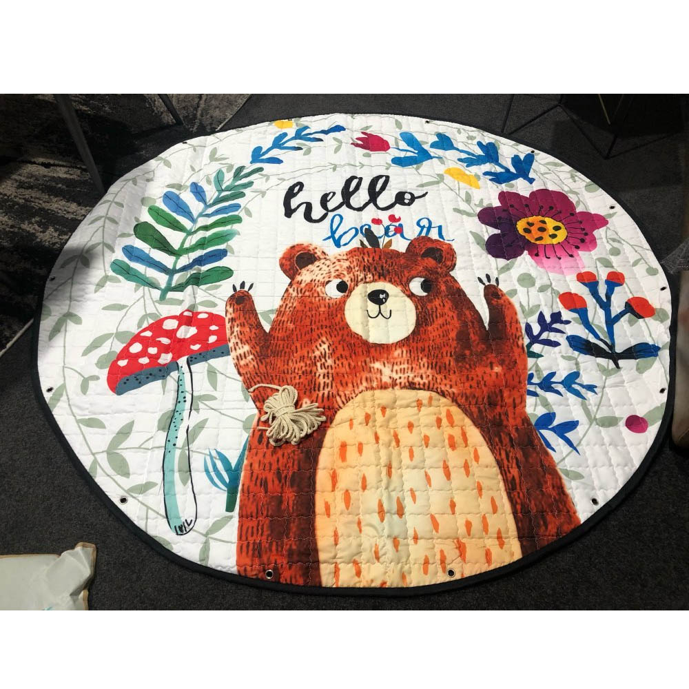 Kids Play Rug Cute Cartoon Bear Rug Backing Great For Nursery Baby Parfect Gift For Kids Kids Play Rug Cute Cartoon Bear Rug Backing Great For Nursery Baby,Parfect Gift For Kids Bedroom Play Room Classroom
