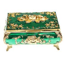الروسية نمط الماس والمجوهرات صندوق مجوهرات صندوق تخزين هدايا الزفاف
