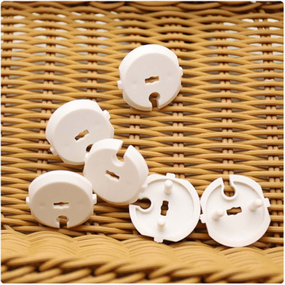 10Pcs French Standard Power Socket Outlet Cover Baby Child Safety Protector Guard Anti Electric Shock Plug Protector Cover Caps
