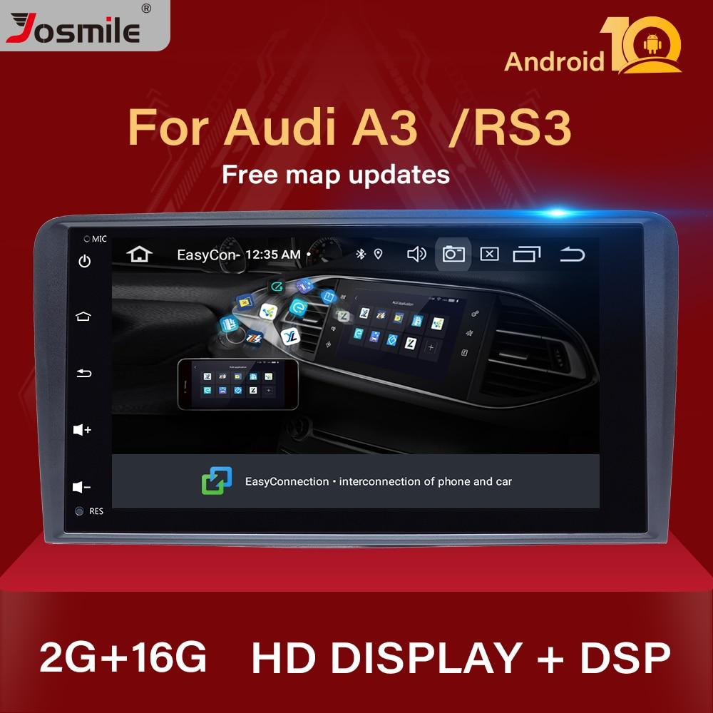 IPS DSP 2 din Android 10,0 Auto-Multimedia-Player kopf einheit Für Audi A3 8P S3 RS3 Sportback Navigation GPS DVD Radio stereo Audio