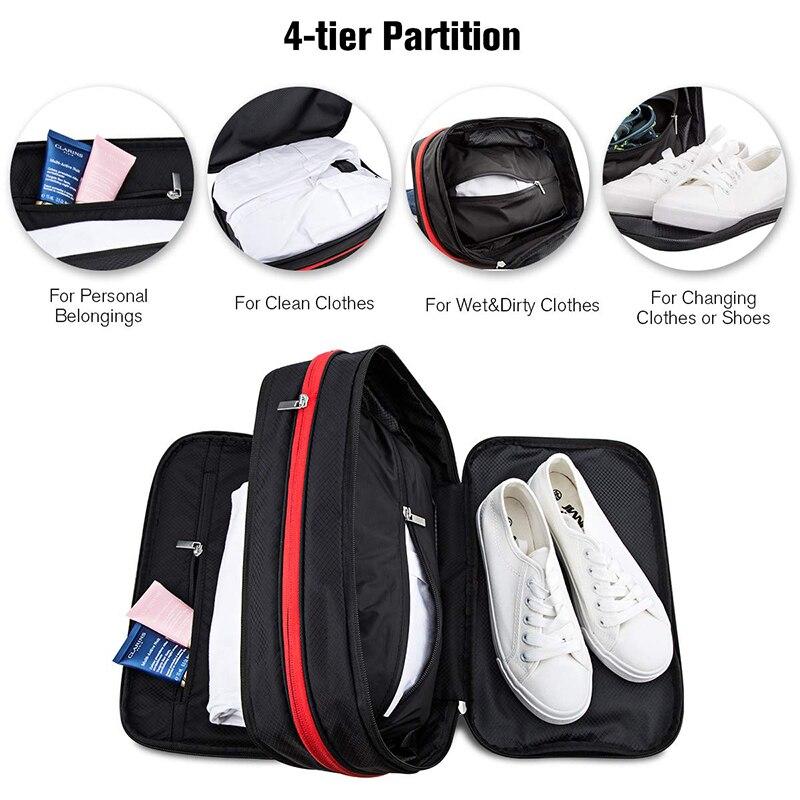 Compression Packing Cubes Travel Luggage Organizer Waterproof Men Women Nylon Travel Bags Hand Luggage Large Capacity Travel Bag