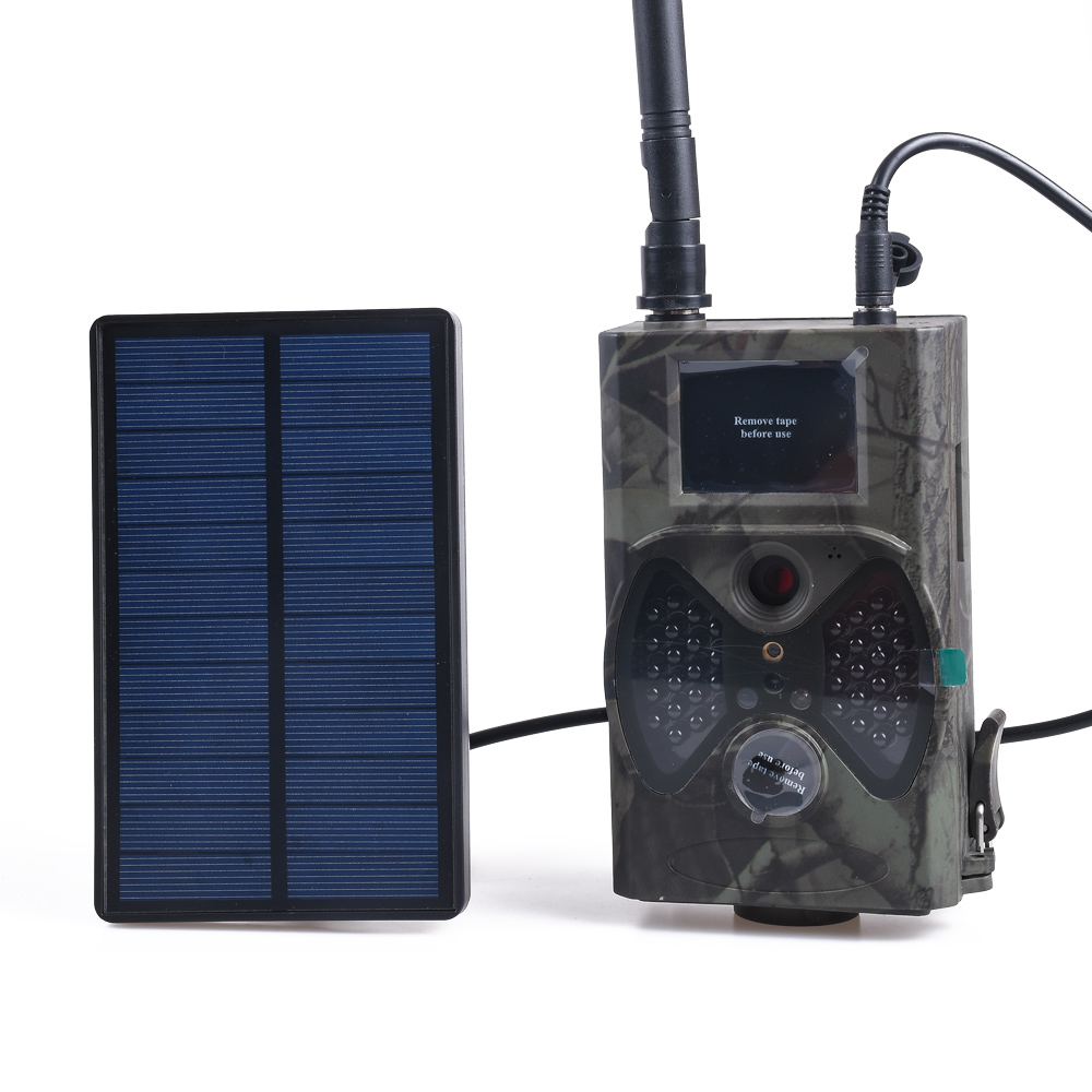 HC300M Solar Panel Battery Hunting Camera External Power Charger 9V For Suntek Photo Traps Trail Cameras HC700G HC550G HC700M