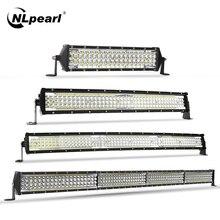 Nlpearl 12-42 inch Led Light Bar/Work Light Led Bar Offroad 12V 24V Combo Beam Led Work Light For Truck ATV 4x4 Boat Tractor