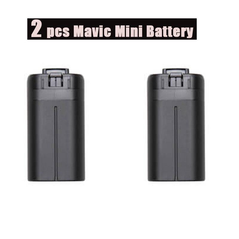 2 pièces 2400mAh pour Mini Batteries intelligentes DJI Mavic Mini Drone accessoires d'origine