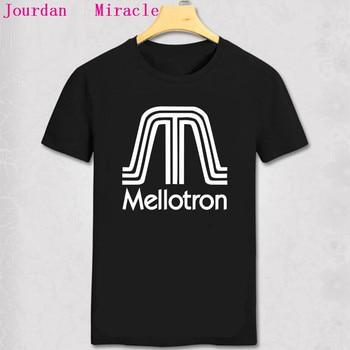 Mellotron camiseta Top Mellotron música Moody azul King Crimson Genesis regalo de música camiseta Mellotron hombres Camiseta de manga corta camisa