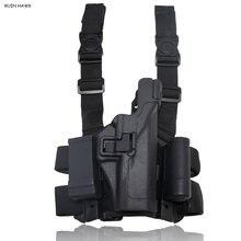 Lv3 Глок кобура для ног тактический охотничий чехол пистолета