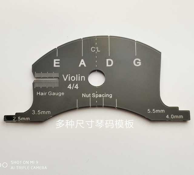 Viool altviool cello bruggen multifunctionele mold template, bruggen reparatie referentie tool, viool onderdelen