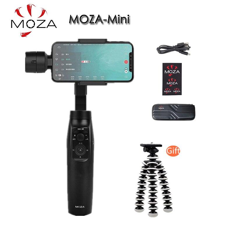 Stabilisateur de cardan portable MOZA MINI MI 3 axes pour téléphone intelligent iPhone X 8 Plus 8 Samsung S9 avec charge utile maximale 300g
