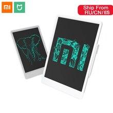 Xiaomi Mijia LCD küçük yazı tahtası manyetik Stylus kalem 10 inç 13.5 inç çocuk Mini çizim pedi pürüzsüz yazı kalem ev iş