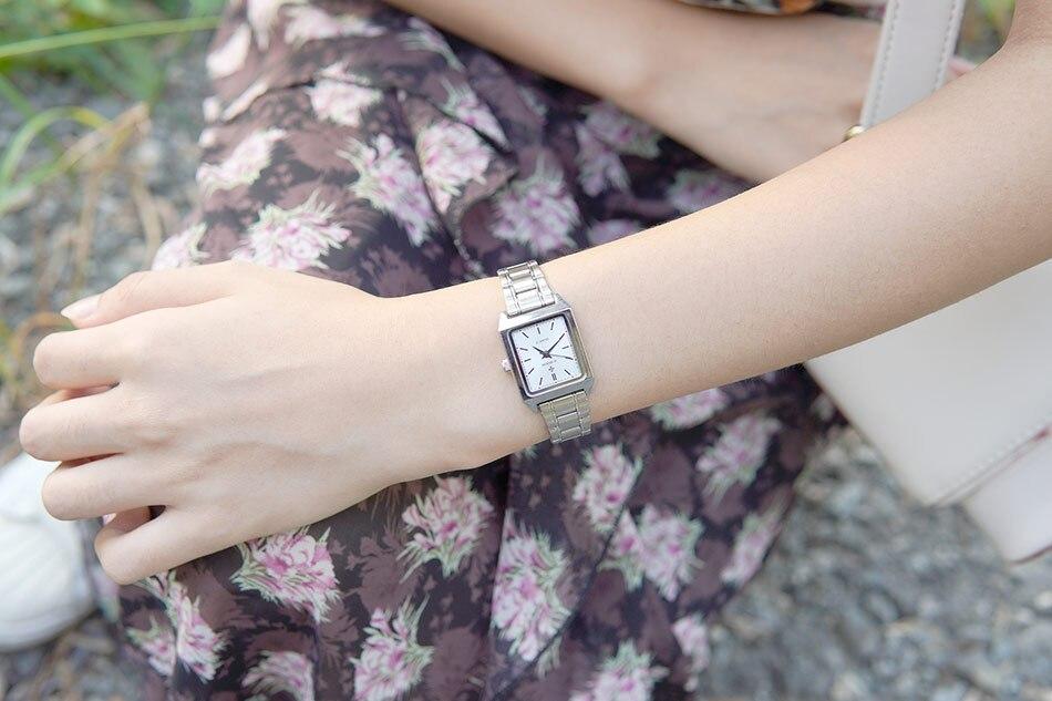 marca superior luxo rosa pequeno relógio de