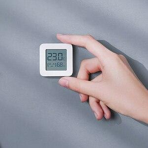 Image 4 - Termômetro digital xiaomi mijia 2 sem fio, o mais novo termômetro elétrico inteligente e digital, funciona com o aplicativo mijia