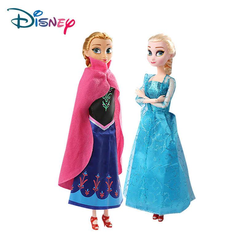 Disney Frozen кукла принцессы феи Фэнтези Девушка DIY игрушка ручной работы платье Аиша Ана прекрасная игрушка модель для ребенка подарок на день рождения