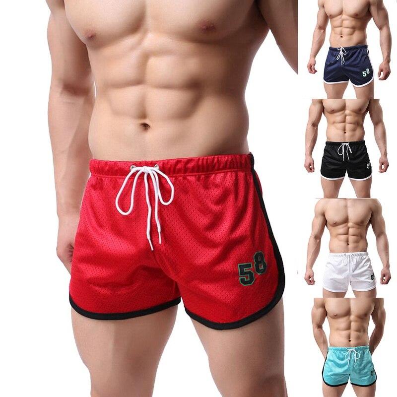 MJARTORIA  Flat Underwear Men Running Shorts Board Shorts Summer Beachwear Beach Shorts Brand Patchwork Quick Dry Breathable