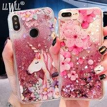 Unicorn Quicksand Cover For Meizu M6 Note Case