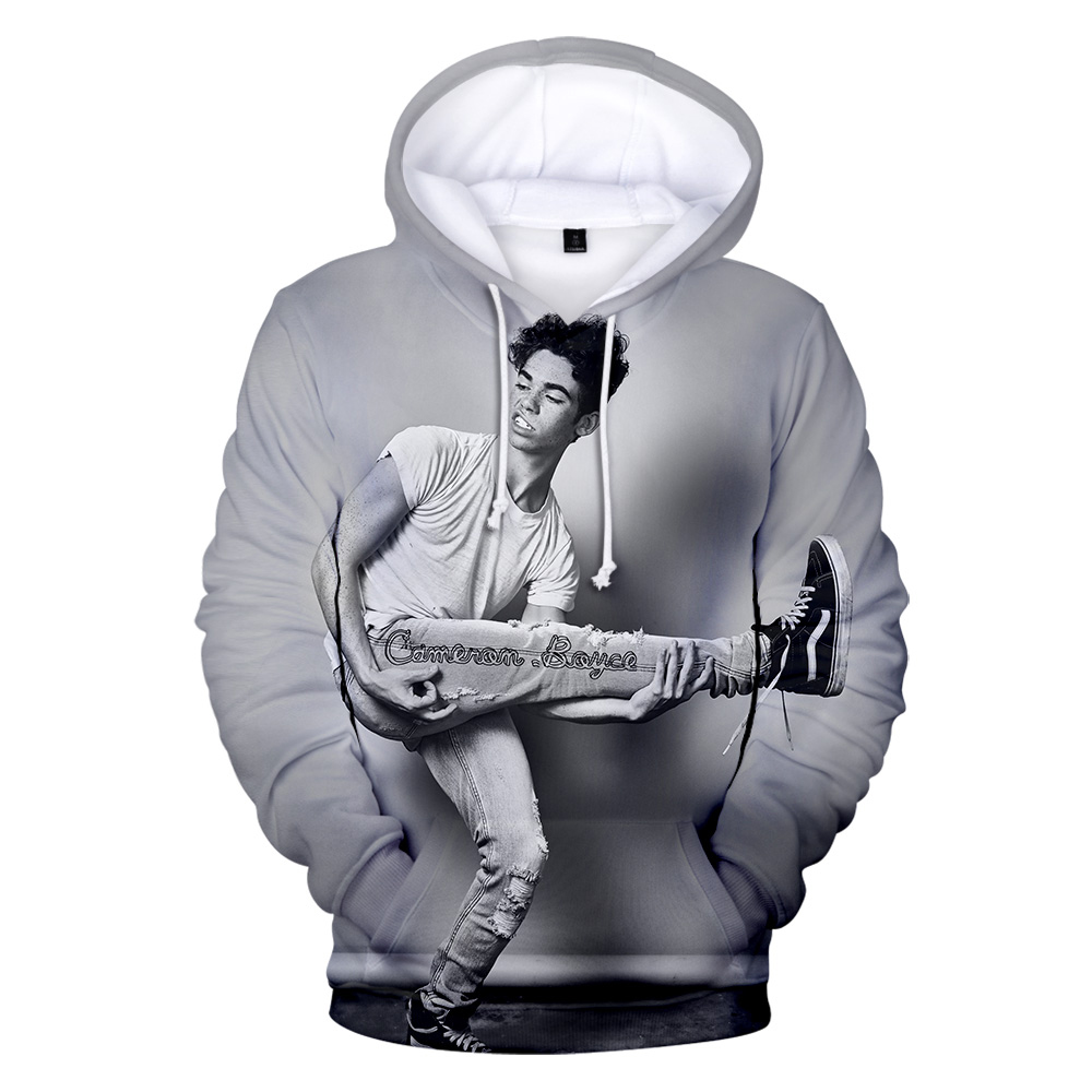 Autumn Casual Fashion Suitable Hot 3D Cameron Boyce Hoodies Boys Girls Men Women New 4XL Hoodie Sweatshirt Hooded Pullover Tops