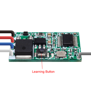 Image 4 - Rubrum 433mhz DC 3.6V 6V 12V 24V 1CH Relè RF Wireless RF Interruttore di Comando A Distanza controller di Lampada A LED Micro Ricevitore Trasmettitore