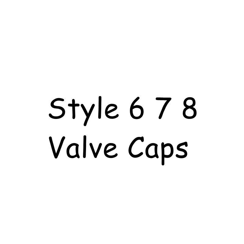 Part 2 STYLE 6 7 8 valve caps(China)