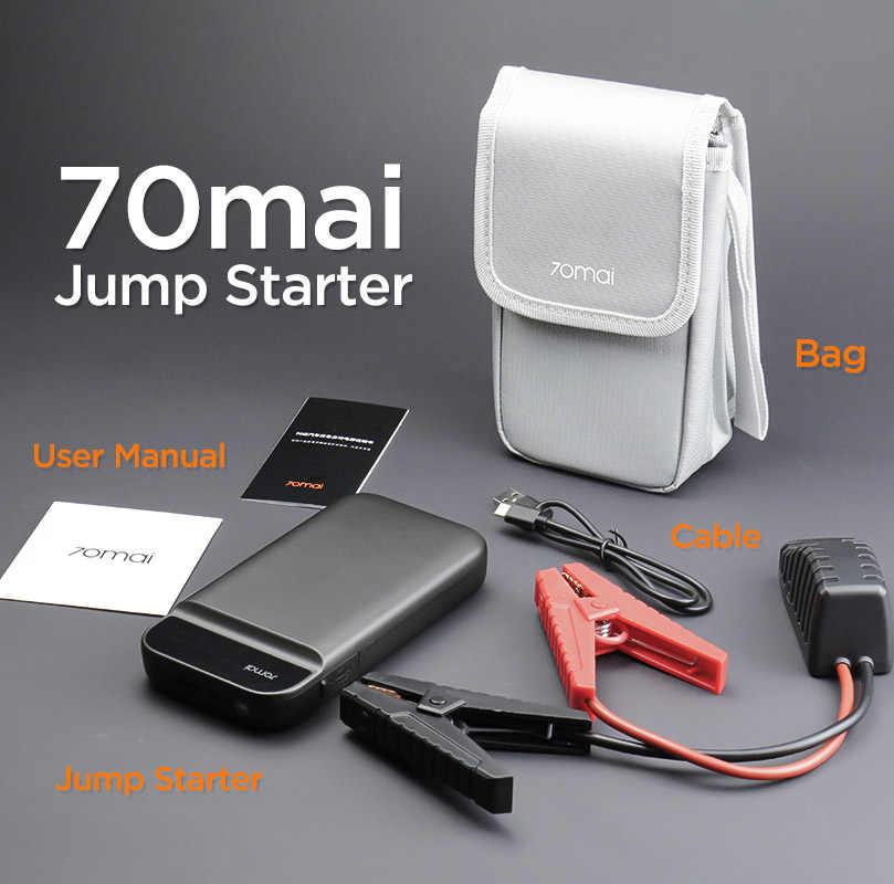 70mai urządzenie do awaryjnego uruchamiania urządzenie do uruchamiania awaryjnego samochodu urządzenie do awaryjnego uruchamiania Power Bank baterii z torbą Jumpstarter Auto Buster awaryjnego samochodu Booster